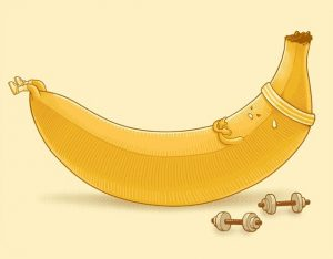 banana-work-out-funny-illustration